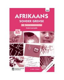 Afrikaans Sonder Grense Tweede Add Taal Gr 12 OG with Control Test Book & Question Bank CD