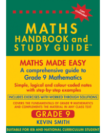 MATHS HANDBOOK & STUDY GUIDE  GRADE 9