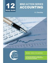 Mind Action Series Grade 12 Accounting Paper 1 Study Guide NCAPS  (PRINTED)