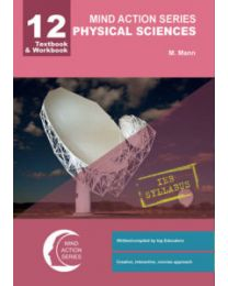 Mind Action Series Grade 12 Physical Science Textbook & Workbook IEB (PRINTED-PUNCHED)