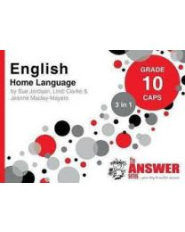 The Answer Series Gr 10 English HL '3 in 1'