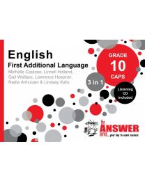 The Answer Series Gr 10 English FAL '3 in 1'