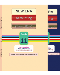 New Era Accounting Grade 11 Exercise Book (Set of 2)
