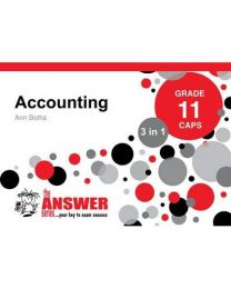 Gr 11 Accounting '3 in 1':English