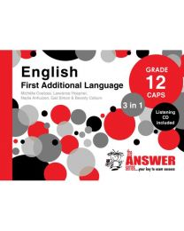 The Answer Series Gr 12 English FAL '3 in 1'