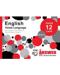 The Answer Series Gr 12 English HL '3 in 1'