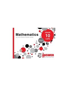 Answer Series Gr 10 Mathematics '3 in 1' - English